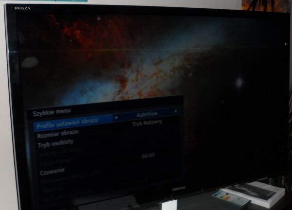 Toshiba UL863 LED LCD TV - ustawienia obrazu