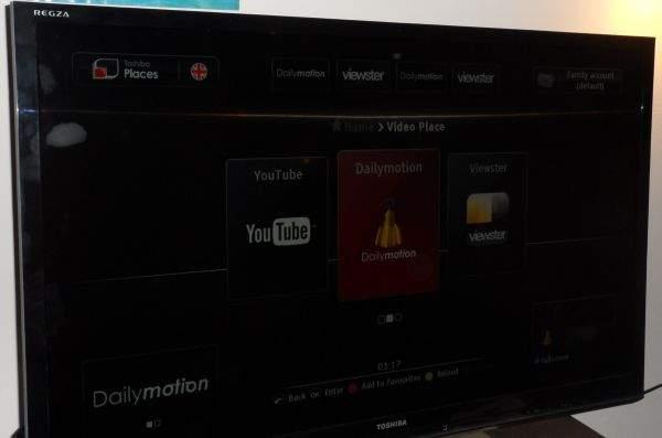 Toshiba UL863 LED LCD TV - Toshiba Places
