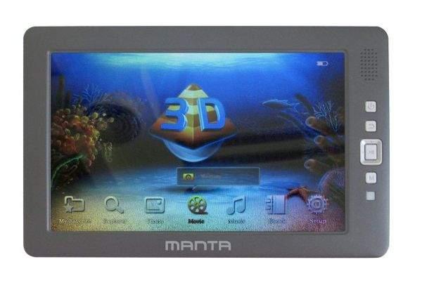 Manta 3D Multimedia Player