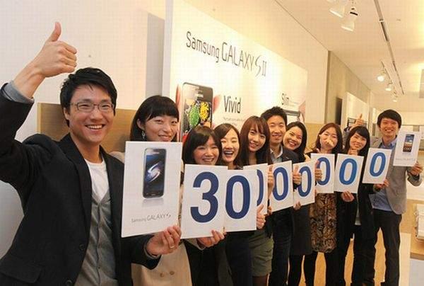Sasmung Galaxy S II wyniki