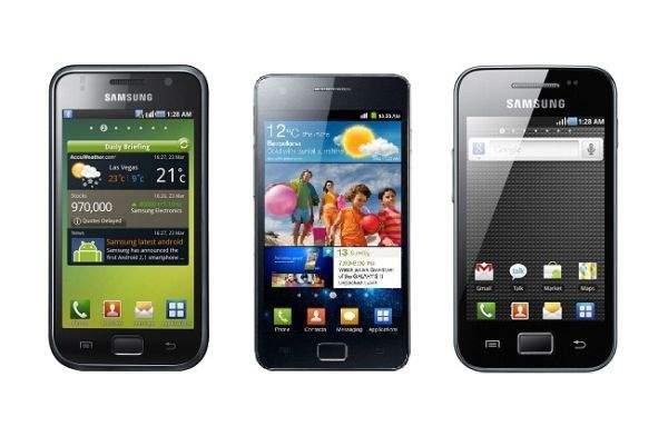 Smartfony Samsunga