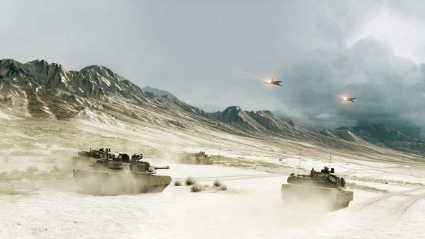 Battlefield 3 czołgi