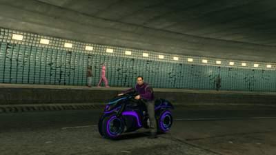 """W pewnym etapie gry dorwiemy nawet motocykl z """"komputera""""."""