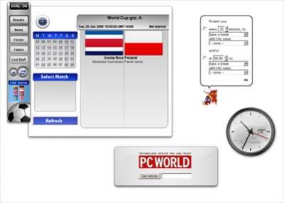 Przykładowe widgety w Operze 9