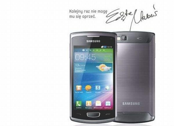 Edyta Herbuś twarzą Samsung Wave 3