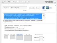 Kod do osadzania plików z YouTube