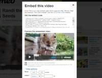 Kod do osadzenia klipu z serwisu Vimeo