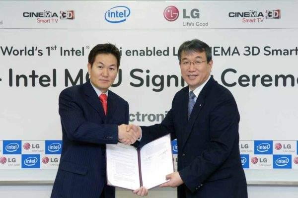 Intel WiDi w LG Cinema 3D TV