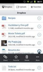 Galeria czterech najlepszych aplikacji do przechowywania plików w chmurze