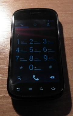 Samsung Nexus S, dialer ICS