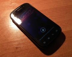 Samsung Nexus S, lockscreen ICS