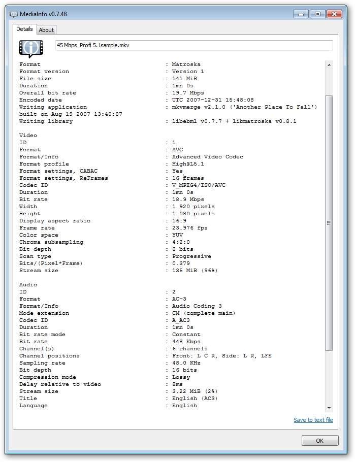 Iomega ScreenPlay DX -  MKV (Format profile High@L5.1, Max. Bitrate: 45 000 Mbps)  HD Media Player 1TB