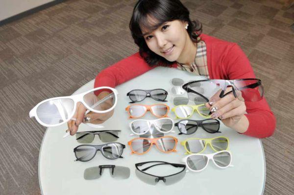 Okulary 3D od LG
