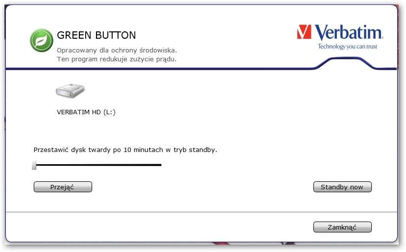 Verbatim Executive Portable Hard Drive 750 GB (53050)