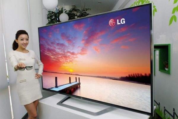 LG 3D UD TV w rozdzielczości 4K