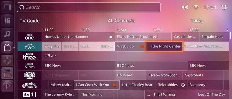 Ubuntu TV - program telewizyjny