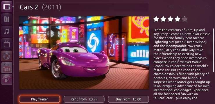 Ubuntu TV - wideo na zyczenie (VOD)
