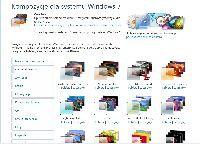 Biblioteka tematów Windows 7 dostępna na stronie internetowej Micros
