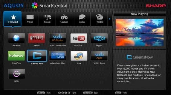 Sharp Smart Central