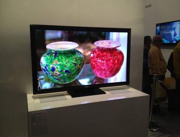 Sony Crystal LED na CES 2012