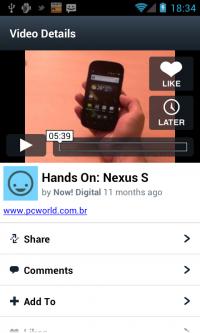 Aplikacja Vimeo pozwala na oglądanie i komentowanie filmów