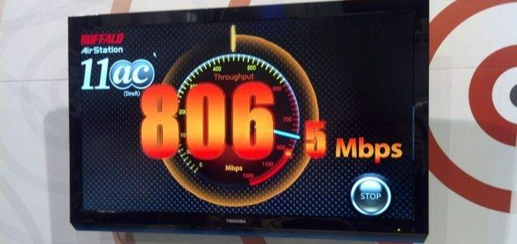 Test prędkości routera 802.11ac firmy Buffallo