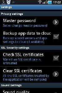 Hasło główne RDC oraz sprawdzanie certyfikatów SSL maja za zadanie zapewnić bezpieczeństwo transmisji