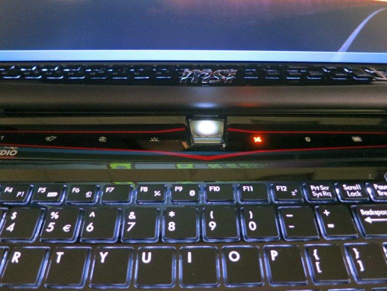 MSI GT780DX - dodatkowe przyciski