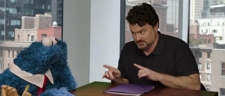 Negocjacje z wydawcami według Tima Schafera (po prawej)