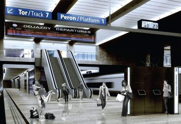 Dworzec Centralny po remoncie