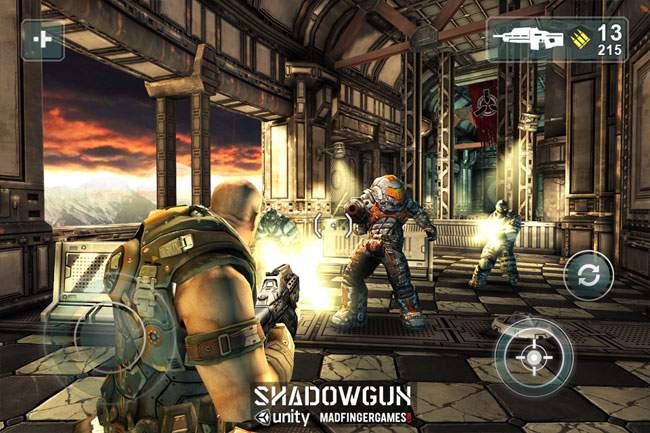 Shadowgun jest najlepszym przykładem tego, że gry na smartfony mogą mieć ładną grafikę.