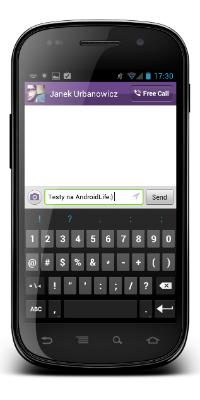 Viber na Nexus S z ICS