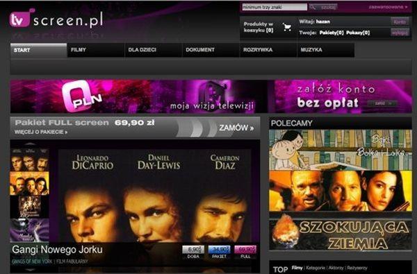 Serwisy VoD w internecie - TVN Player rośnie, TVScreen bankrutuje
