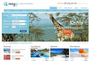 Jeżeli nie masz pewności, czy reklamowany hotel faktycznie znajduje się w dobrej lokalizacji, wystarczy rzut oka na mapę internetową (tutaj na przykładzie EasyGo.pl)