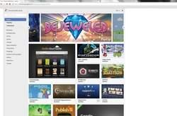 Wśród dodatków do Google Chrome 17 wymienić można wiele popularnych gier znanych z wersji dla komórek. Na przykład: Angry Birds, Bejeweled.