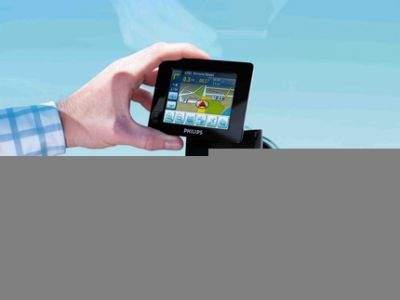 Philips PSN - system nawigacji satelitarnej.