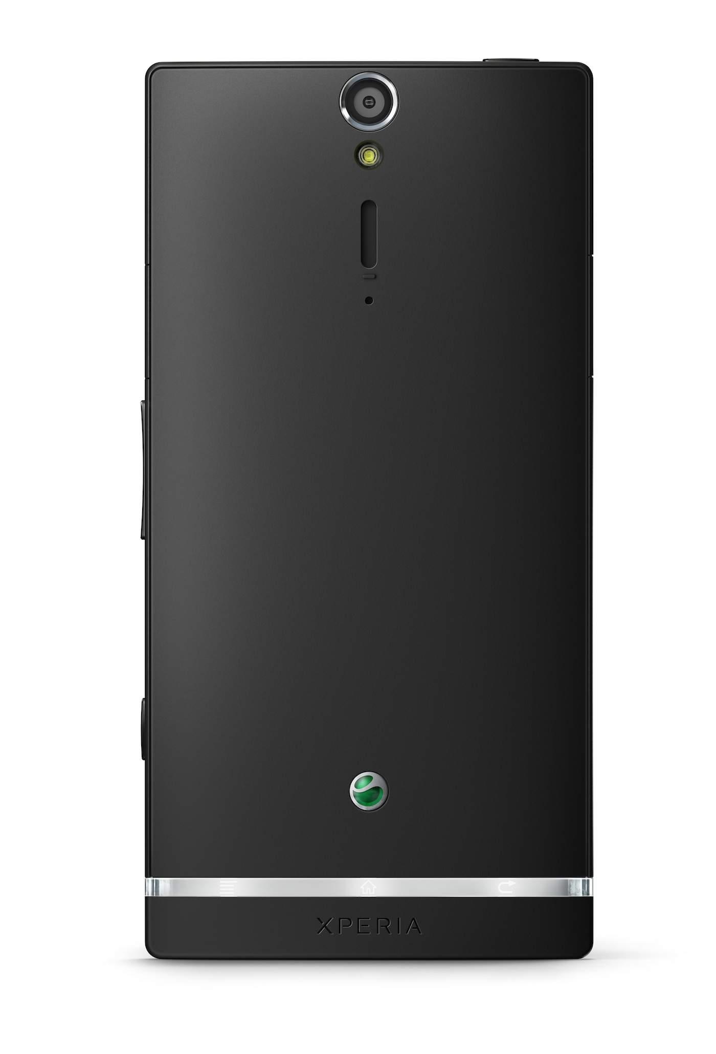 Sony Xperia S - Tył