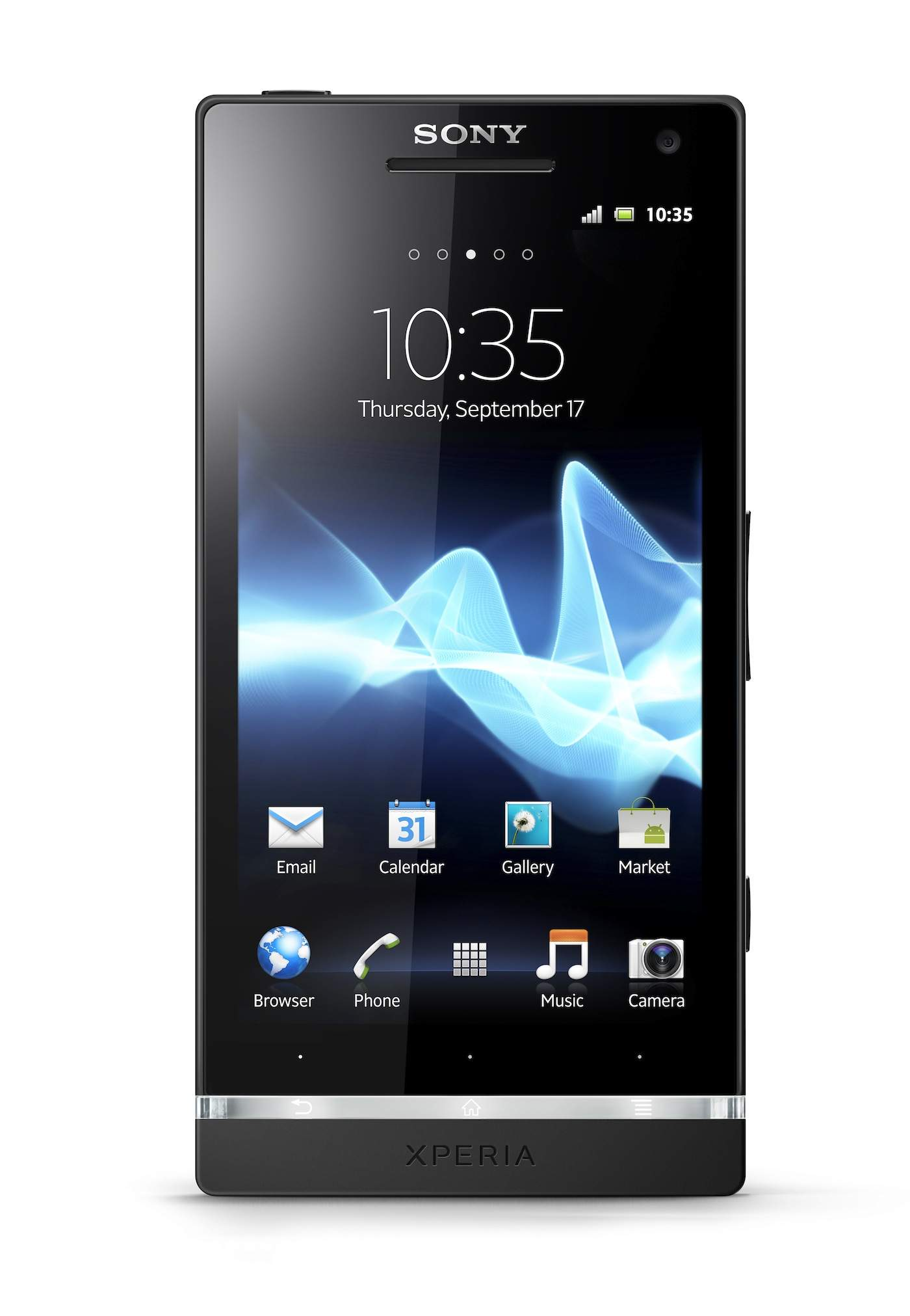 Sony Xperia S - Front