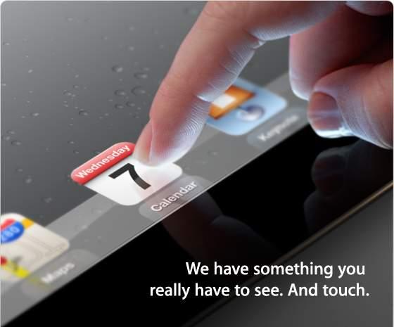 Konferencja Apple - zapowiedź iPada 3