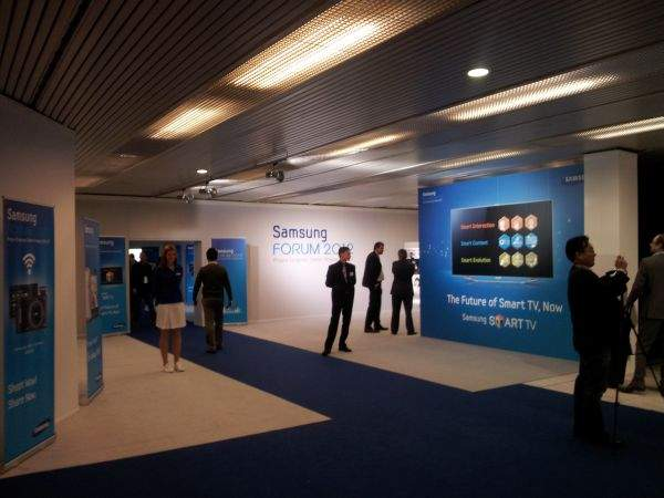Samsung Forum 2012 hall