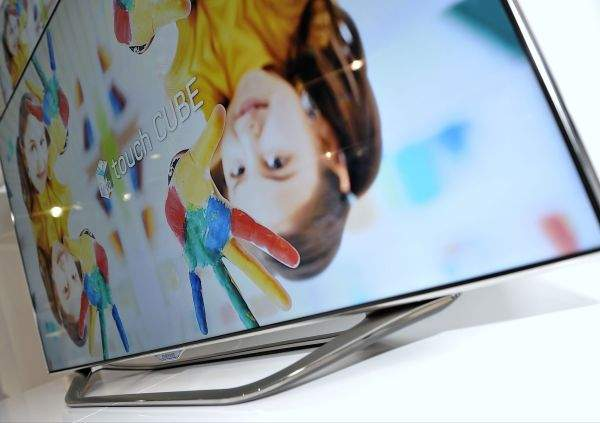 Samsung Smart TV 2012 design