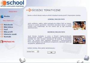 Lekcja demo kursu eschool dostępna w wersji Business English i General English