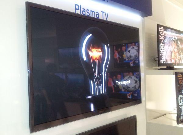 Plazma Samsunga kontrast