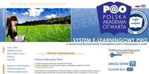 Polska Akademia Otwarta  oferuje studia I (Pedagogika, Zarządzanie) i II stopnia (Zarządzanie) oraz studia podyplomowe w zakresie tłumaczeń pisemnych