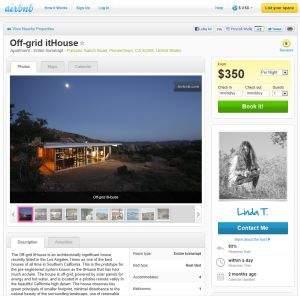 Airbnb (www.airbnb.com) to serwis umożliwiający wynajęcie na kilka lub kilkanaście dni pokoju, mieszkania lub domu od innej osoby. Jego charakterystyczną cechą jest wysoka jakość publikowanych ofert