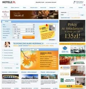 Zaletą polskich wyszukiwarek ofert hoteli, takich jak hotele.pl, jest dostęp do obszernej bazy noclegów z naszego kraju oraz obsługa innych form płatności niż karta kredytowa lub PayPal, co może mieć znaczenie dla wielu rodzimych użytkowników