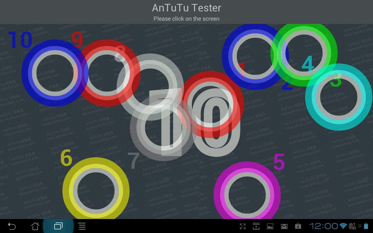 Asus Transformer Prime TF201 - ekran potrafi zarejstrować 10 punktów jednocześnie.