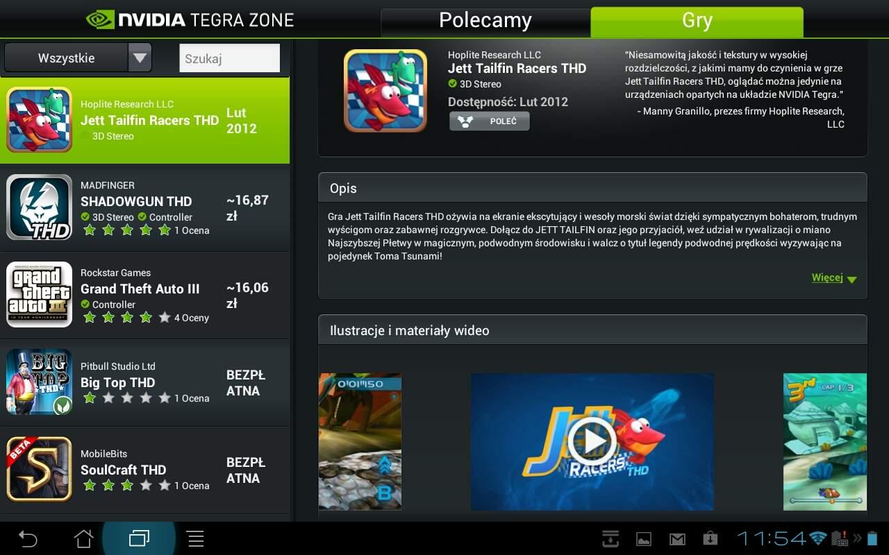Asus Transformer Prime TF201 - Nvidia Tegra Zone