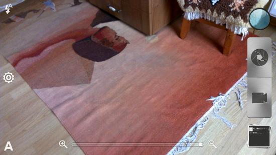 Nowy wygląd aplikacji aparatu