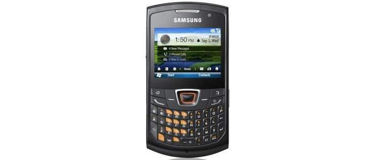 Samsung Omnia Pro 5 z Windows Mobile 6.5